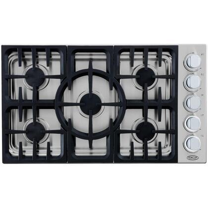 DCS CDU365N  Gas Sealed Burner Style Cooktop