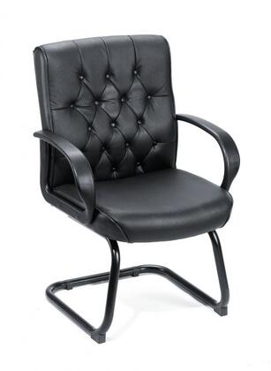 Boss B8509 Button Tufted Mid Back Guest Chair