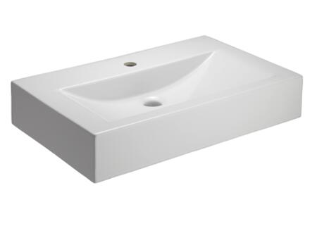 Barclay 4571WH White 1-Hole Sink