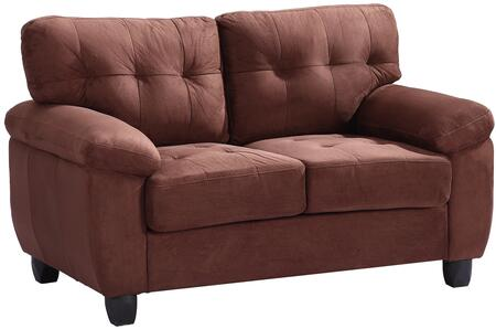 Glory Furniture G902AL Suede Stationary Loveseat