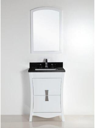 Bellaterra Home 500701 Vanity and Mirror Set