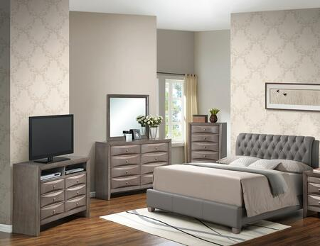 Glory Furniture G1505CTBUPCHDMTV2 G1505 Twin Bedroom Sets