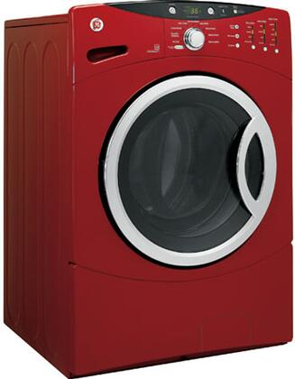 GE WCVH6800JMR  3.5 cu. ft. Front Load Washer, in Metallic Red