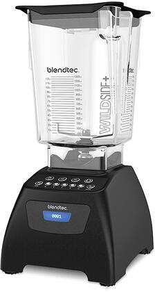 Blendtec Classic575W 3.0 peak horsepower, Push-button, 4 preprogrammed cycles: Smoothie, Clean, and  60- and 90- second timed cycles, in