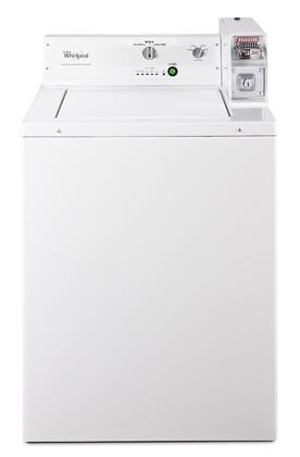Whirlpool CAE2743BQ Commercial Laundry Series 2 9 cu  ft  27 Inch  Commercial Top Load Washer