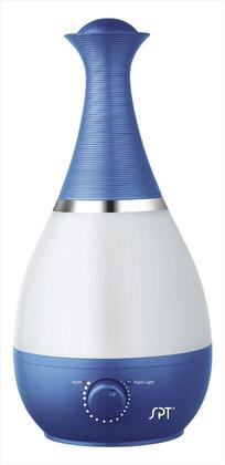 Sunpentown SU-2550 Ultrasonic Humidifier with Fragrance Diffuser, Ultrasonic Technology, Silent Operation, Night Light, 2.3L Water Tank in