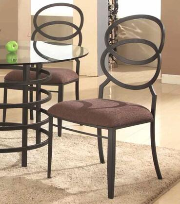 Chintaly ALDOSC4SET Aldo Dining Room Chairs