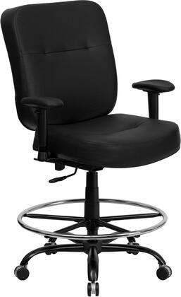 "Flash Furniture WL735SYGBKLEAADGG 29.25"" Contemporary Office Chair"