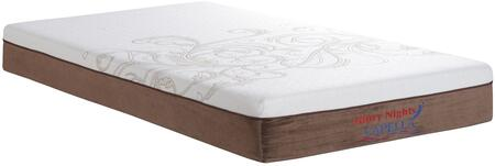 Glory Furniture GN3340K Capella Series King Size Memory Foam Top Mattress