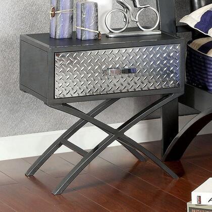 Furniture of America CM7166N Metro Series  Night Stand