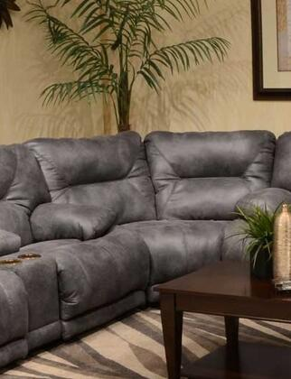 """Catnapper Voyager Collection 73"""" Wedge with Decorative Stitching, Comfort Coil Standard Cushion, Sewn Tufted Back and Polyester Faux Leather Fabric Upholstery"""