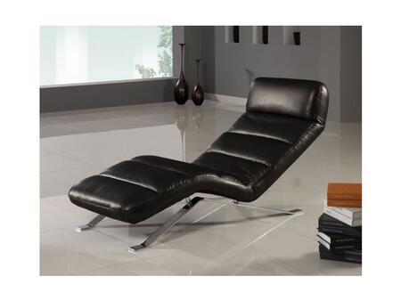 "Global Furniture USA F05-RelaxChaise Ultra Bonded Leather Relax 62""-Length Chaise"