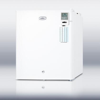 Summit FFAR22LMEDDT MEDDT Series Freestanding Counter Depth Compact Refrigerator with 1.6 cu. ft. Capacity, 1 Wire Shelf