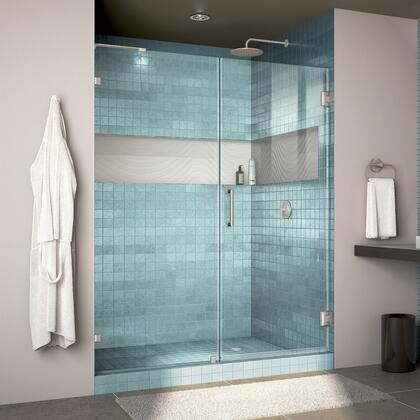 Unidoor Lux Shower Door RS30 30D 30P 04 Blue Tile