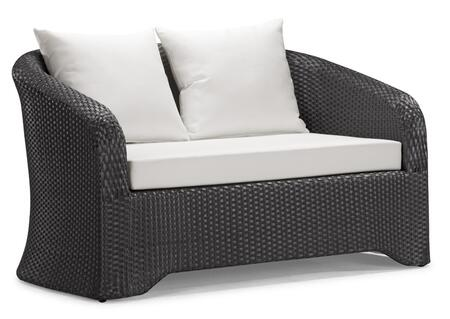 Zuo 701311 Outdoor Patio Love Seat