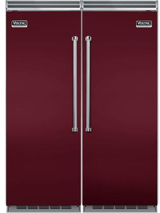 Viking 734367 5 Side-By-Side Refrigerators