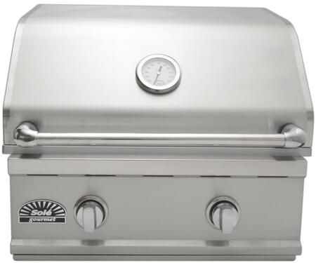 A Front View of the Grill,closed