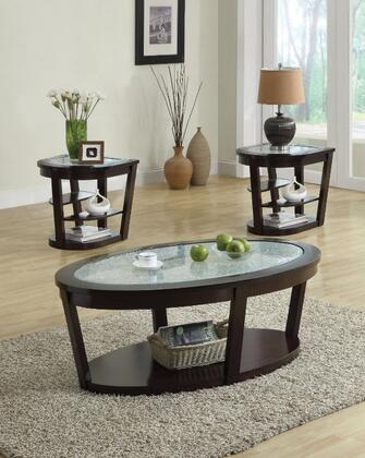 Acme Furniture 80016 Capri Series Modern Oval End Table