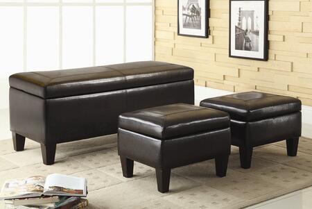 Coaster 501085  Leather-like Vinyl Bench