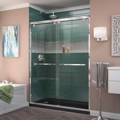 Encore Shower Door RS50 01 88B LeftDrain
