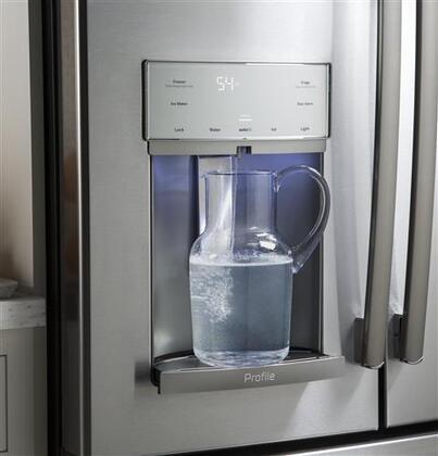 Ge Profile Pfe28kskss 36 Inch French Door Refrigerator In