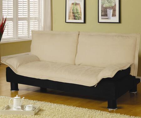 Coaster 300178  Convertible Microfiber Sofa