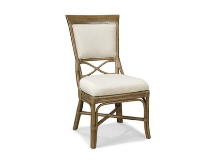 Ambella 31000610001 Ocean Vista Series Traditional White Wood Frame Dining Room Chair