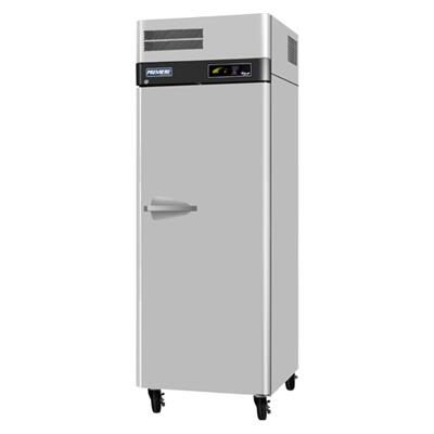 Turbo Air PROR cu.ft Premiere Refrigerator with Solid Door, Digital Temperature Control System, Hot Gas Condensate System, High-Density Polyurethane Insulation and Stainless Steel Cabinet Construction