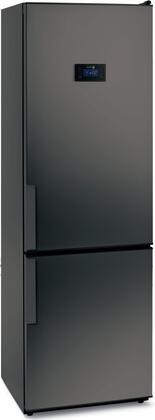 Fagor FFJA4845B  Counter Depth Bottom Freezer Refrigerator with 11 cu. ft. Total Capacity 4 Glass Shelves