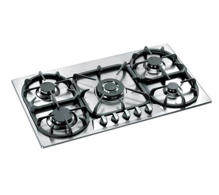 Bertazzoni P34500X Modular Series Gas Sealed Burner Style Cooktop, in Stainless Steel