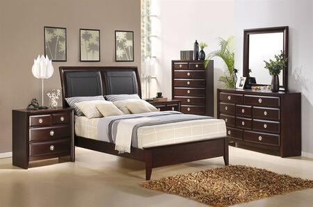 Accent HA870502BEDROOMSET4 Arlington Queen Bedroom Sets