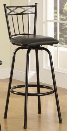 Coaster 122026  Faux Leather Upholstered Bar Stool