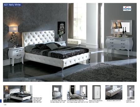 Bedroom Furniture Modern Bedrooms Nelly 621 White M95 C95 E96 B5 S95