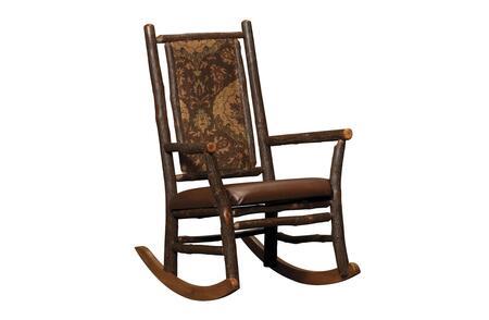 Chelsea Home Furniture 420676BIRD  Wood Frame Fabric Rocking Chair