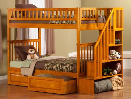 Atlantic Furniture AB56627  Twin Size Bunk Bed