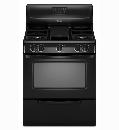 "Whirlpool WFG231LVB 30"" Gas Freestanding Range with Sealed Burner Cooktop, 4.4 cu. ft. Primary Oven Capacity, Broiler in Black"
