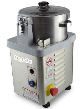 Skyfood CR Cutter Mixer with 1/2 Horsepower Motor, On/Off/Pulse Button, and Stainless Steel Blade, Bowl and Motor Housing