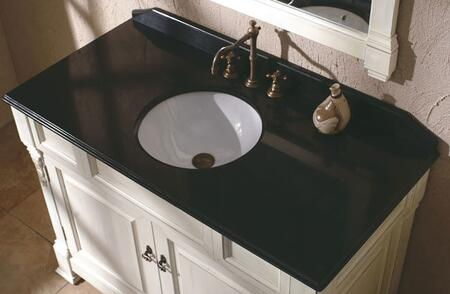 "James Martin Bosco 147-114-52X2 48"" Single X Top With 17"" White Sink, 3 Hole, 8"" Spread, In X"