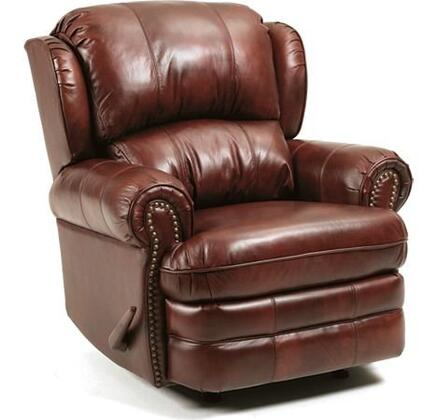 Lane Furniture 5421S63516317P Hancock Series Traditional Leather Wood Frame  Recliners