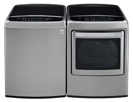 LG LG2PCTL27WGKIT3 Washer and Dryer Combos