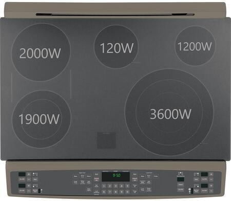 Ge Profile Ps950efes 30 Inch 6 6 Cu Ft Capacity Slide In