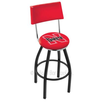 Holland Bar Stool L8B430NEBRUN Residential Vinyl Upholstered Bar Stool