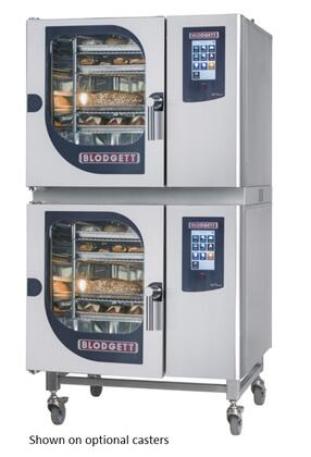 Blodgett BLCT Double Stack Electric Boilerless Combination-Oven/Steamer with Touchscreen Control, Multiple modes, Self cleaning system. Capacity: