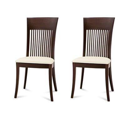 Domitalia ASTONRMSW02 Ashton Series Contemporary Fabric Wood Frame Dining Room Chair
