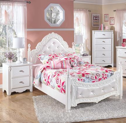 Milo Italia BR274FPBBEDROOMSET Woodard Full Bedroom Sets