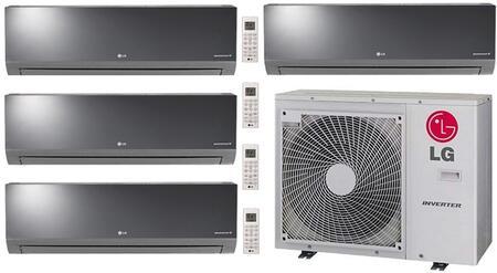 LG 730417 Quad-Zone Mini Split Air Conditioners