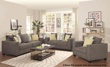 Coaster 50142S1LS Kelvington Living Room Sets