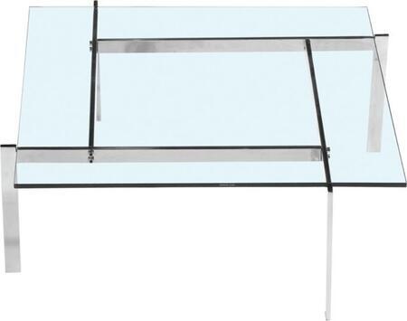 Fine Mod Imports FMI10043CLEAR Clear Modern Table
