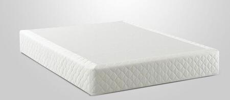 "Enso FOUND9 9"" Mattress Foundation with Fully Assembled, Polyester Velour Knit Cover and Heavy Duty Construction"