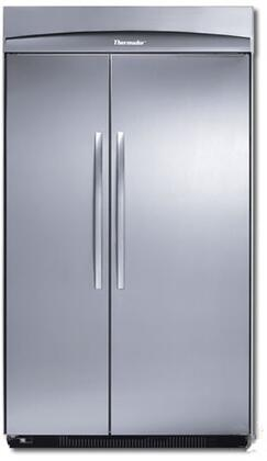Thermador KBUIT4255E Masterpiece Series Counter Depth Side by Side Refrigerator with 25.2 cu. ft. Capacity in Stainless Steel